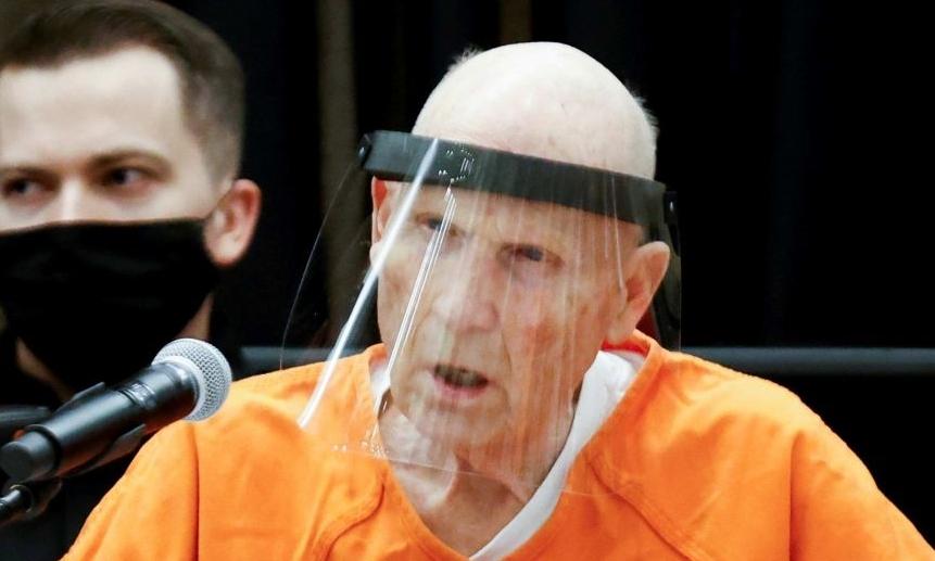 Sát nhân Joseph James DeAngelo tại tòa ở California ngày 29/6, Ảnh: Reuters.