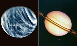Loạt ảnh chụp đầu tiên của các hành tinh hệ Mặt Trời
