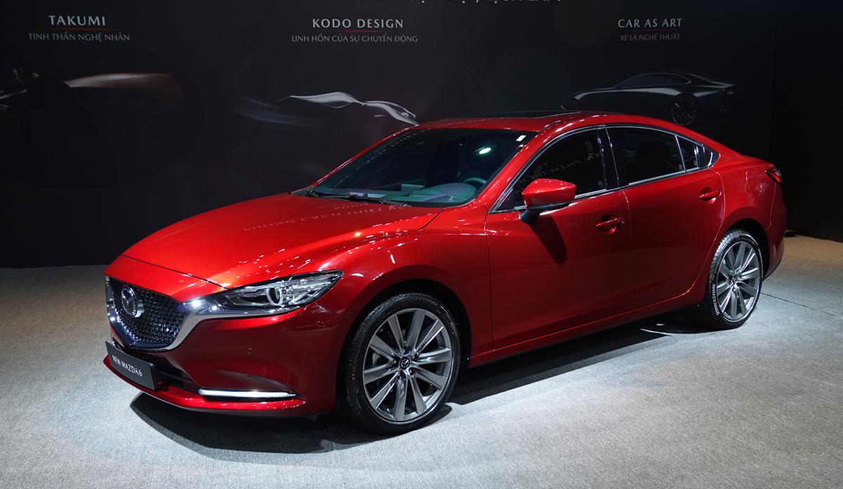 Thiết kế Mazda6 2020 tại Việt Nam.