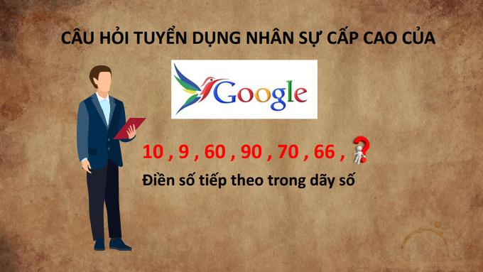 Bài toán tuyển dụng nhân sự của Google