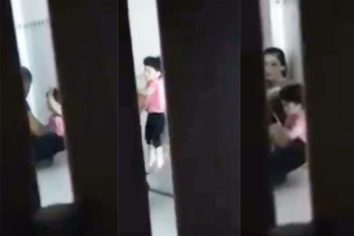 Bé gái bị cha dượng bạo hành