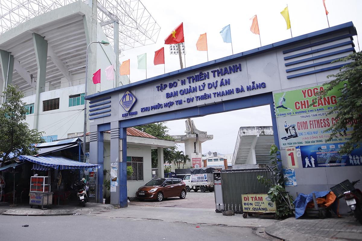 Sân vận động Chi Lăng bị lãnh đạo thành phố Đà Nẵng bán cho Tập đoàn Thiên Thanh từ năm 2010. Ảnh: Nguyễn Đông.