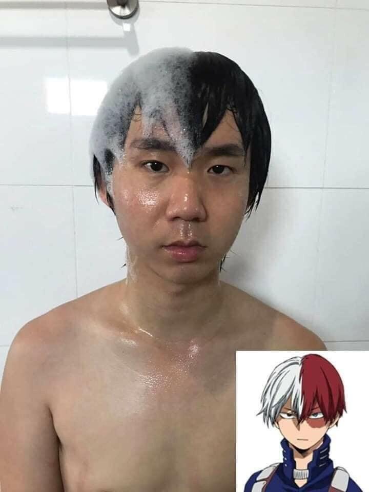 Thanh niên Thái cosplay nhân vật hoạt hình khi đi tắm - 6