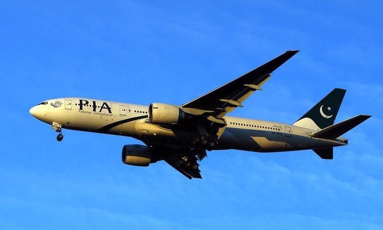 Một chiếc Boeing 777 của hãng hàng không PIA. Ảnh: PA.