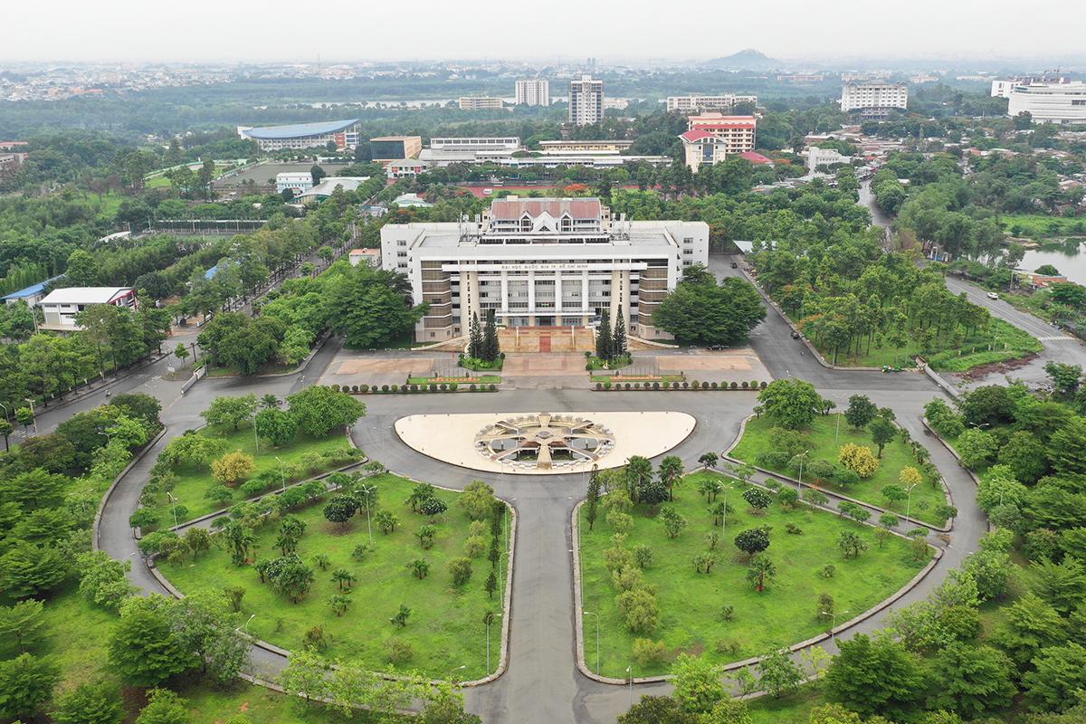 Đại học Quốc gia TP HCM sẽ là trung tâm giáo dục - đào tạo nhân lực có trình độ và chất lượng cao của Thành phố phía Đông theo kế hoạch của TP HCM. Ảnh: Hữu Khoa.