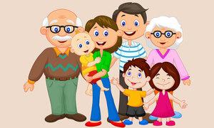 Gia đình này có bao nhiêu người?