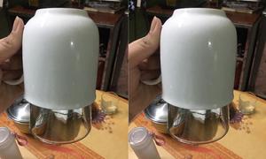 Làm sao để gỡ hai chiếc cốc dính chặt vào nhau?
