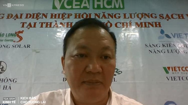 Tiến sĩ Hoàng Giang, Trưởng Đại diện Hiệp hội Năng lượng sạch Việt Nam tại TP HCM