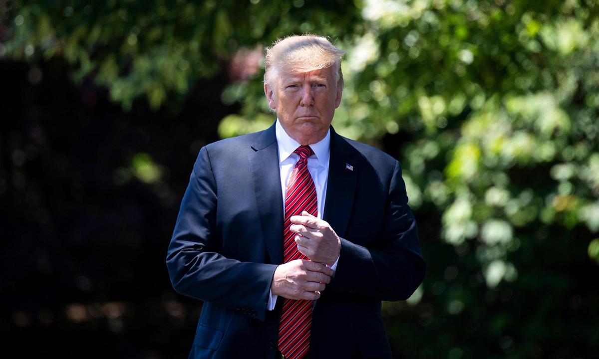 Tổng thống Donald Trump tại Nhà Trắng, hôm 11/6. Ảnh: AFP.