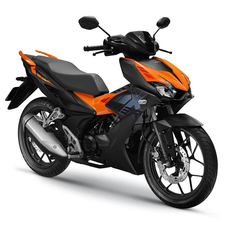 Honda Winner X phiên bản màu cam.