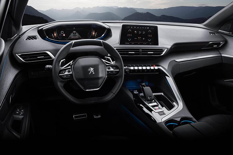 Khoang lái đậm chất tương lai của Peugeot 3008.