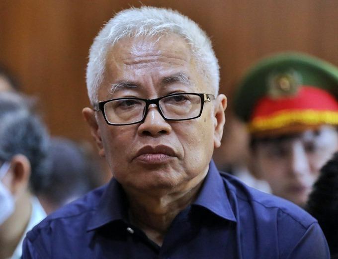 Ông Trần Phương Bình trong giai đoạn 2 của vụ án đang bị xét xử. Ảnh: Quỳnh Trần.
