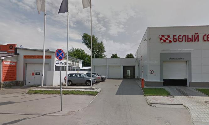 Xưởng dịch vụ của một đại lý ôtô ở Tula, nơi xảy ra tai nạn. Ảnh: Google Maps