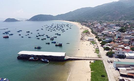 Một góc huyện Vạn Ninh thuộc khu vực Bắc Vân Phong. Ảnh: Xuân Ngọc