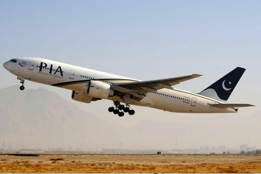 Một chiếc Boeing 777 của Hàng không Quốc tế Pakistan (PIA). Ảnh: Reuters.