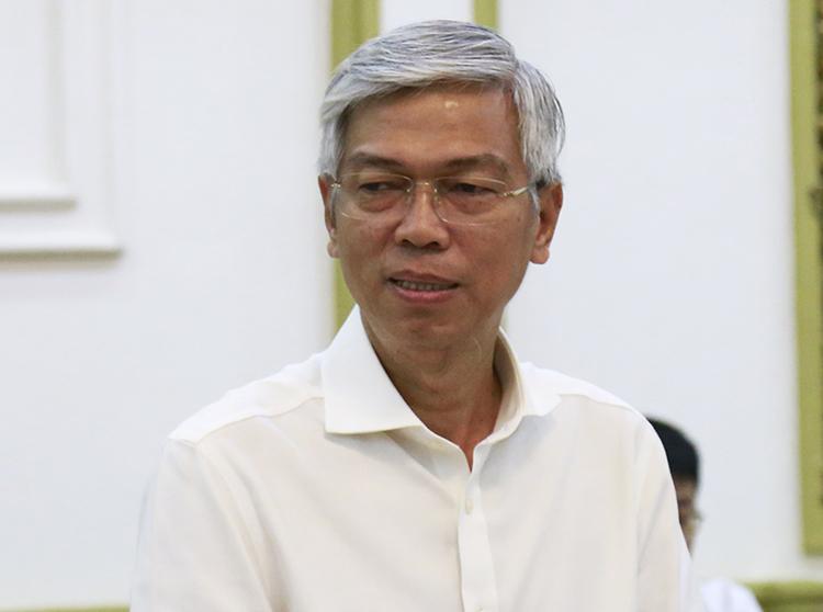 Phó chủ tịch UBND TP HCM Võ Văn Hoan. Ảnh: Hữu Công