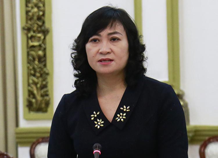 Phó chủ tịch HĐND TP HCM Phan Thị Thắng. Ảnh: Hữu Công