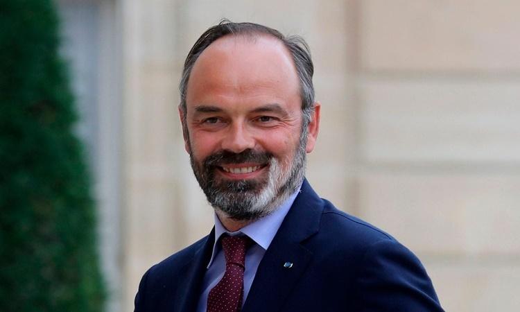 Cựu thủ tướng Pháp Edouard Philippe. Ảnh: AFP.