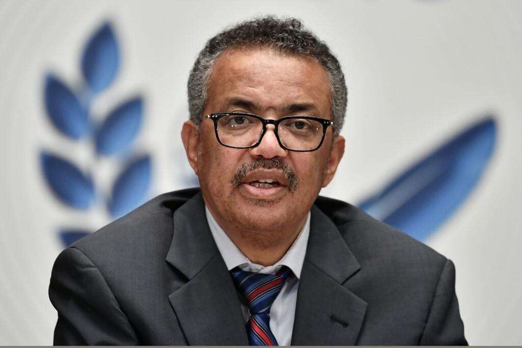 Tổng giám đốc WHO Tedros Adhanom Ghebreyesus. Ảnh: AFP.