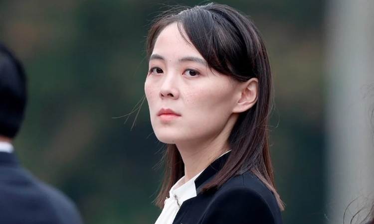 Kim Yo-jong, em gái lãnh đạo Triều Tiên Kim Jong-un. Ảnh: AFP.