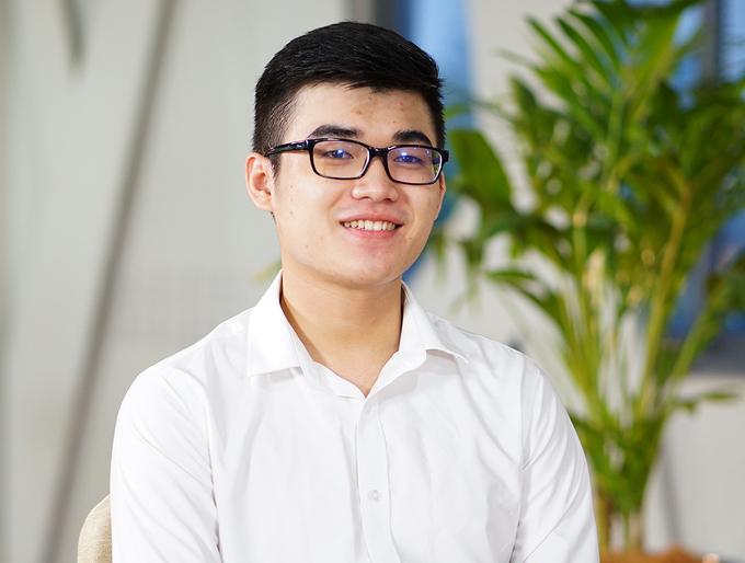Phạm Hải Bằng, hiện là sinh viên năm 2 ngành Quản trị Khách sạn tại Đại học Hoa Sen.