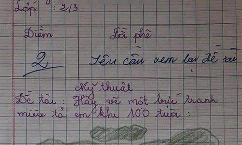 Học sinh bị điểm kém vì bài văn hoàn hảo - 3
