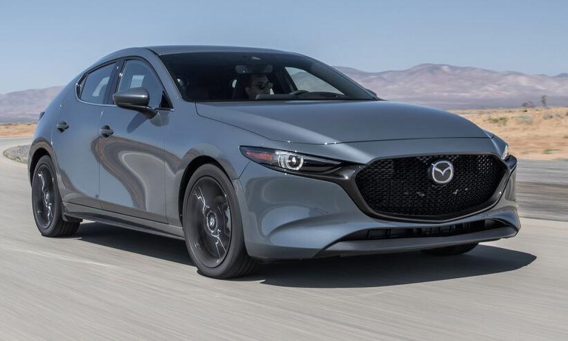 Mazda3 2021 trang bị động cơ tăng áp bán trước tiên tại Bắc Mỹ. Ảnh: Mazda