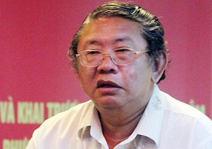 Ông Phạm Văn Sáng khi còn làm Giám đốc Sở Khoa học và Công nghệ Đồng Nai. Ảnh: Phước Tuấn.