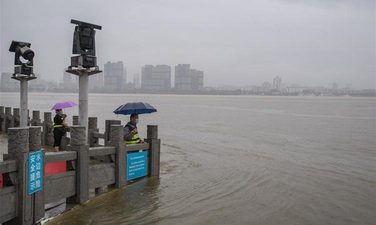 Lũ Lụt ở Trung Quốc Mới Nhất Vũ Han Nang Mức ứng Pho Khẩn Cấp Lũ Len Cấp Ii