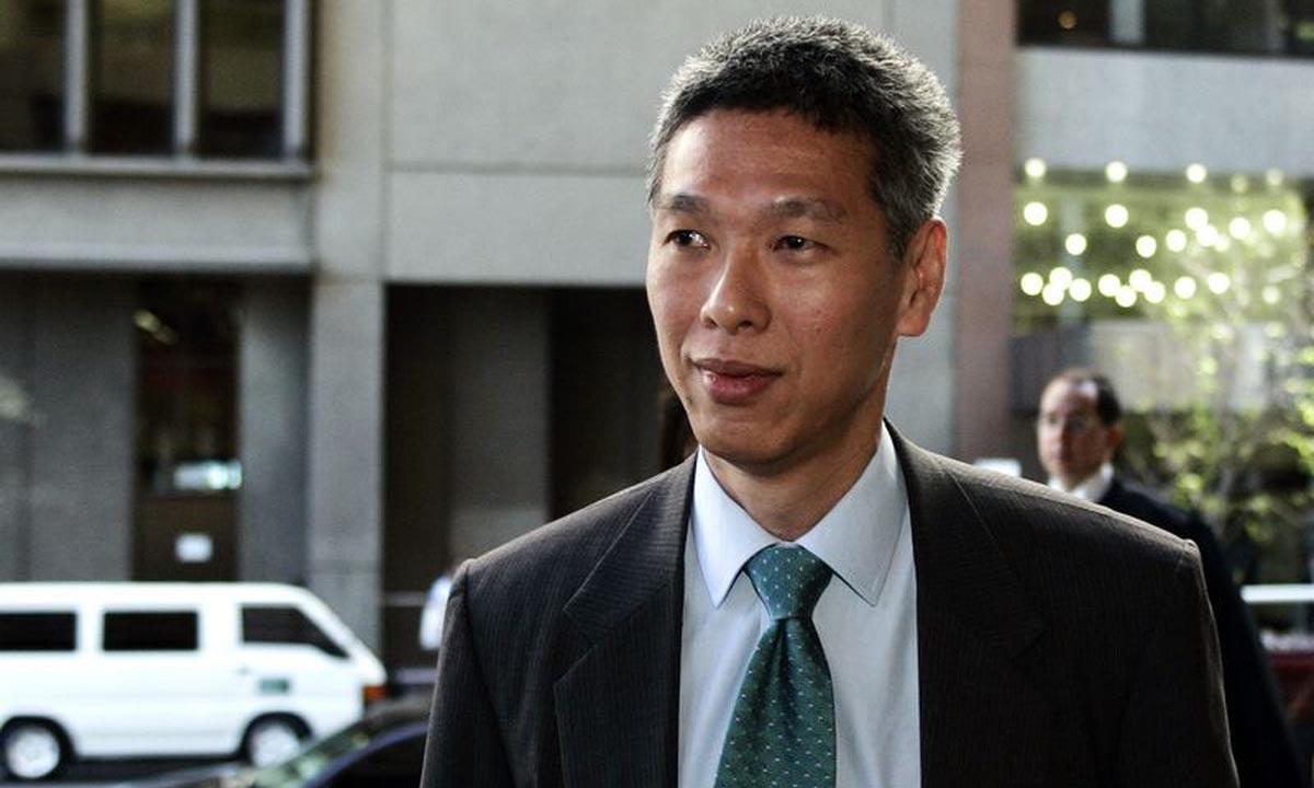 Lý Hiển Dương, em trai Thủ tướng Singapore Lý Hiển Long, tại Sydney, Australia, hồi năm 2006. Ảnh: Reuters.