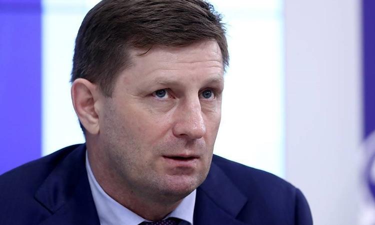 Thống đốc vùng Khabarovsk, Sergei Furgal. Ảnh: TASS.