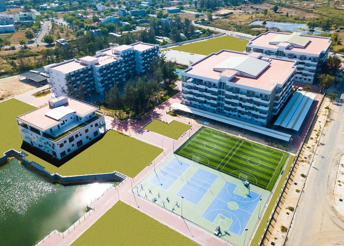 Khuôn viên hiện đại của Đại học FPT Đà Nẵng được chọn để đặt Phòng chờ Du học