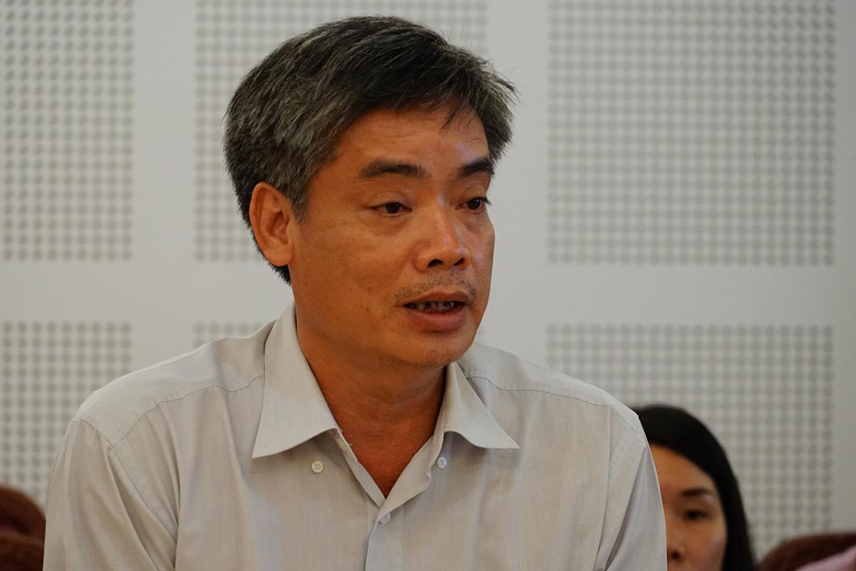 Ông Viên Chinh Chiến, Viện trưởng Viện vệ sinh dịch tể Tây Nguyên. Ảnh: Trần Hóa.