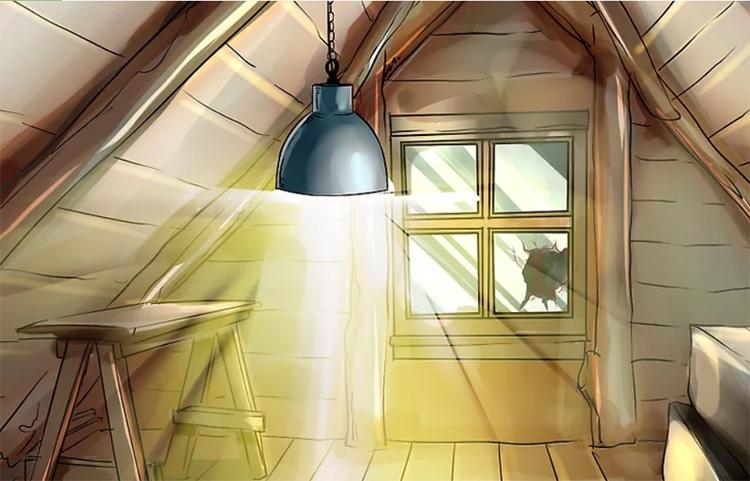 Treo đèn sáng và dây nhôm sẽ khiến dơi tránh xa. Ảnh: