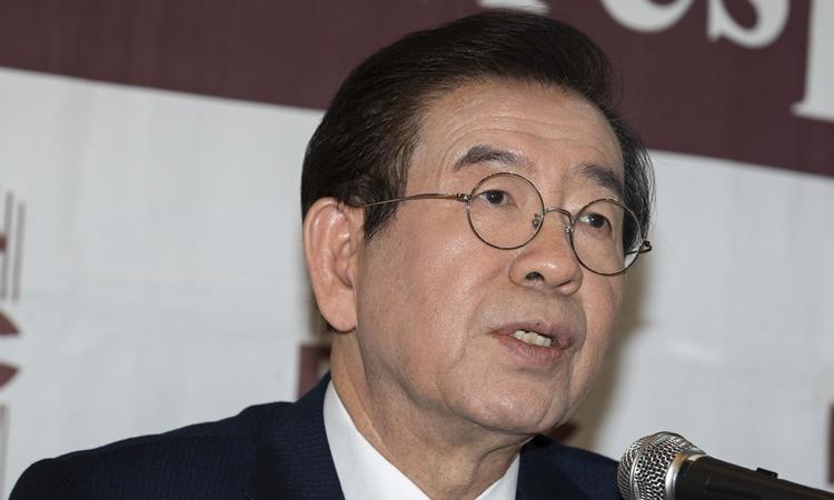 Thị trưởng Park Won-soon ở Seoul tháng 1/2019. Ảnh: Reuters.