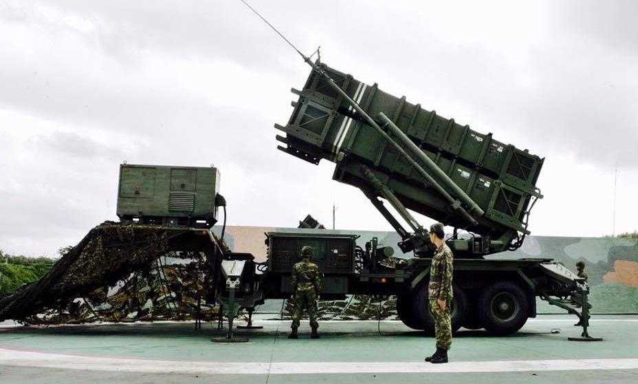 Bệ phóng tên lửa Patriot của Đài Loan. Ảnh: Taiwan News.