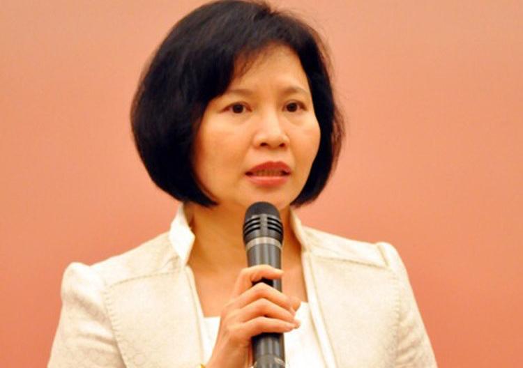 Bà Hồ Thị Kim Thoa.