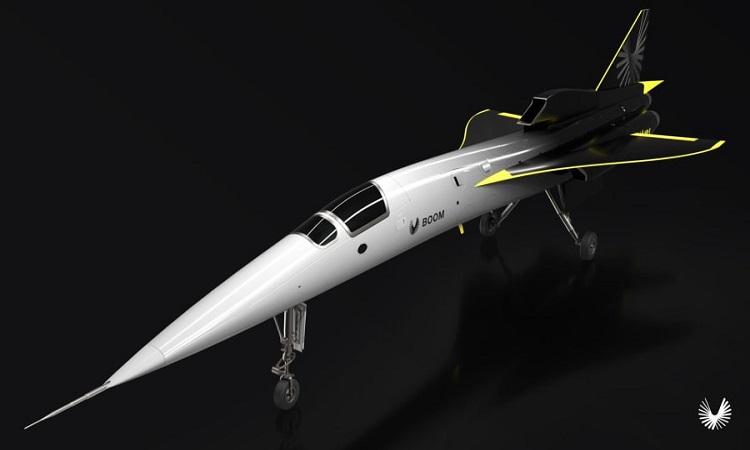Nguyên mẫu XB-1 do Boom Supersonic phát triển. Ảnh: CNN.