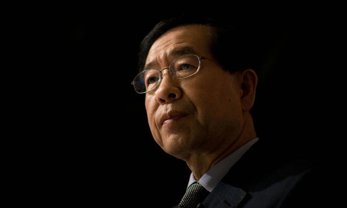 Thị trưởng Seoul Park Won-Soon tại Seoul tháng 5/2014. Ảnh: AFP.