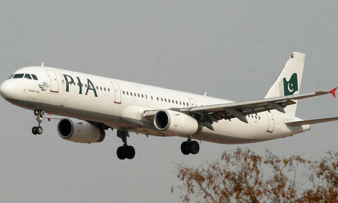 Một máy bay của PIA tại sân bay quốc tế Islamabad, tháng 2/2007. Ảnh: Reuters.