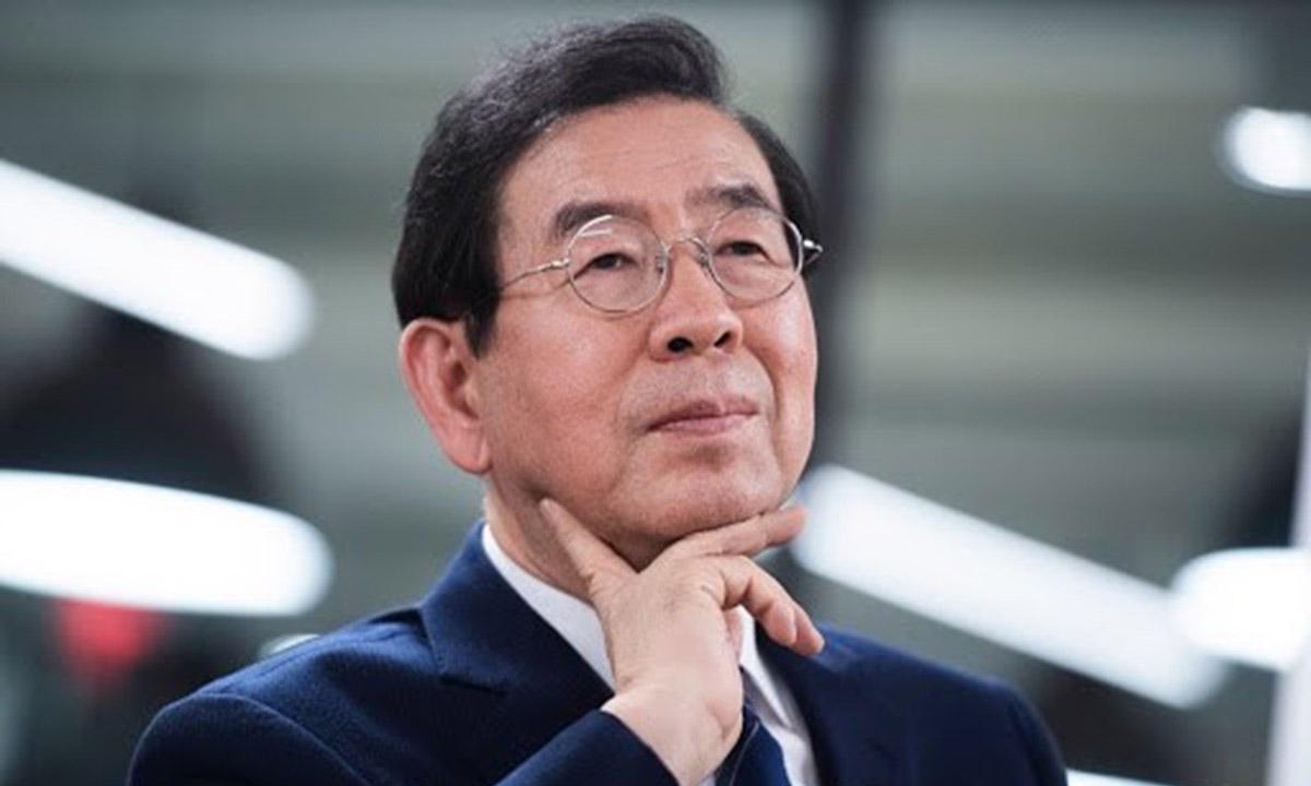 Thị trưởng Seoul Park Won-soon tại một sự kiện ở Washington, Mỹ, hôm 13/1. Ảnh: Reuters.