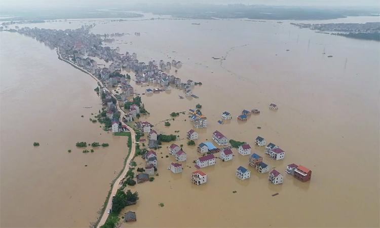Tỉnh Trung Quốc Cảnh Bao Lũ Lụt Cao Nhất Vnexpress