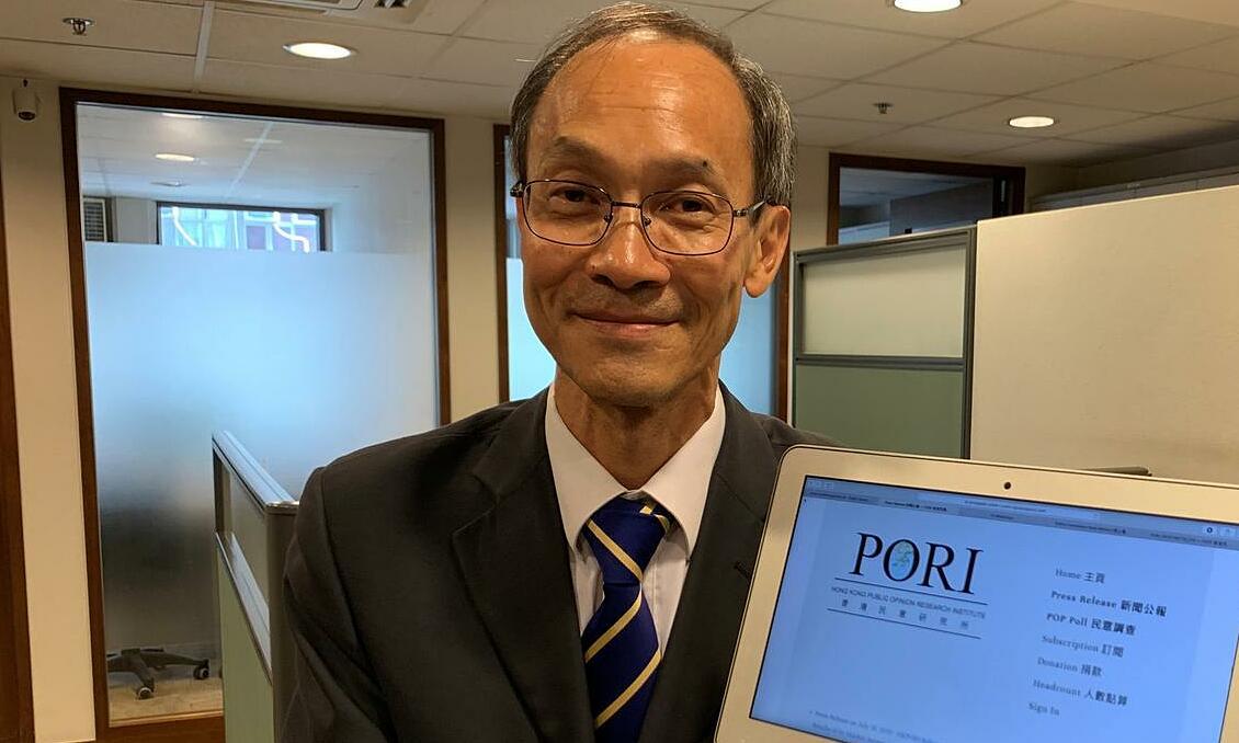 Robert Chung tại một hội nghị ở Hong Kong tháng 7/2019. Ảnh: Reuters.