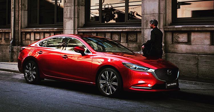 New Mazda6 trên đường phố.