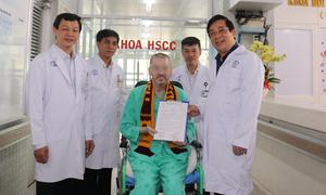 Bệnh nhân phi công: 'Tôi sẽ sớm trở lại Việt Nam'