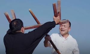 Môn võ dùng 'đồ gia dụng' để tấn công