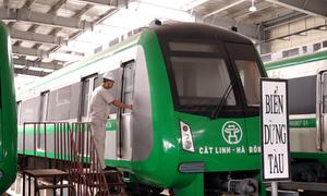 Đường sắt Cát Linh - Hà Đông nằm chờ nghiệm thu