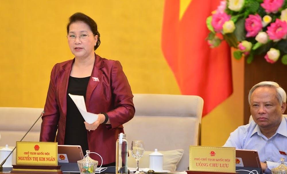 Chủ tịch Quốc hội Nguyễn Thị Kim Ngân. Ảnh: Hoàng Phong