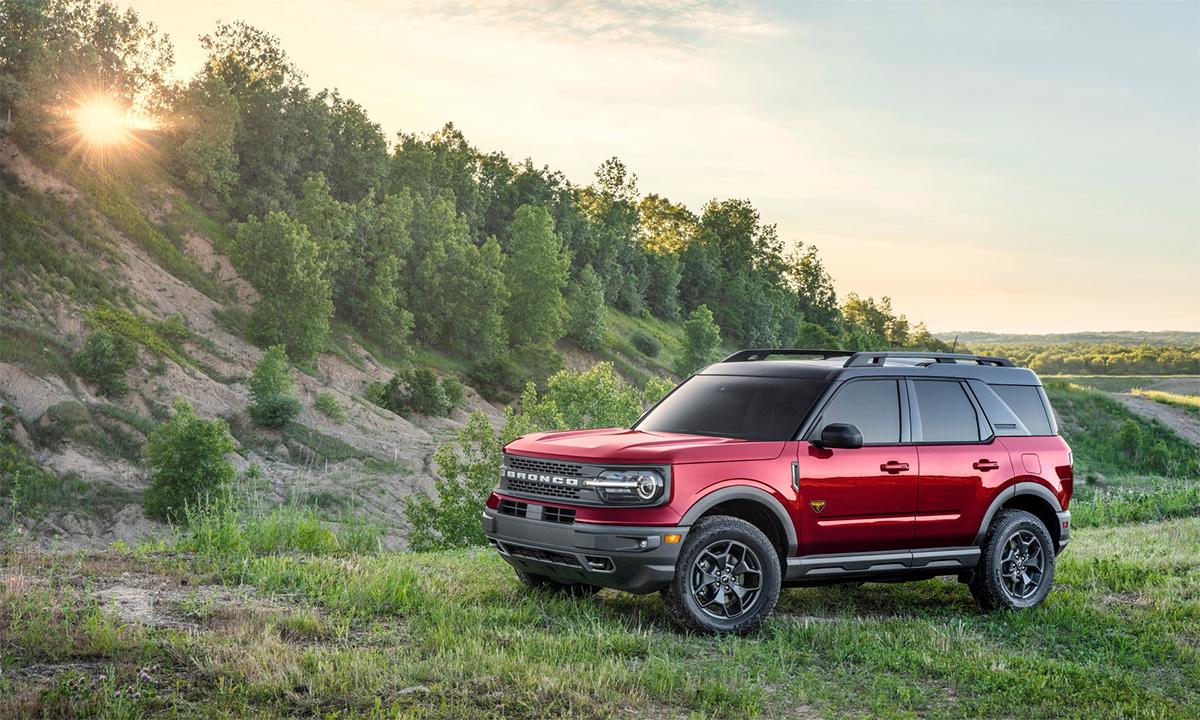 Chuyên gia off-road Bronco Sport. Ảnh: Ford