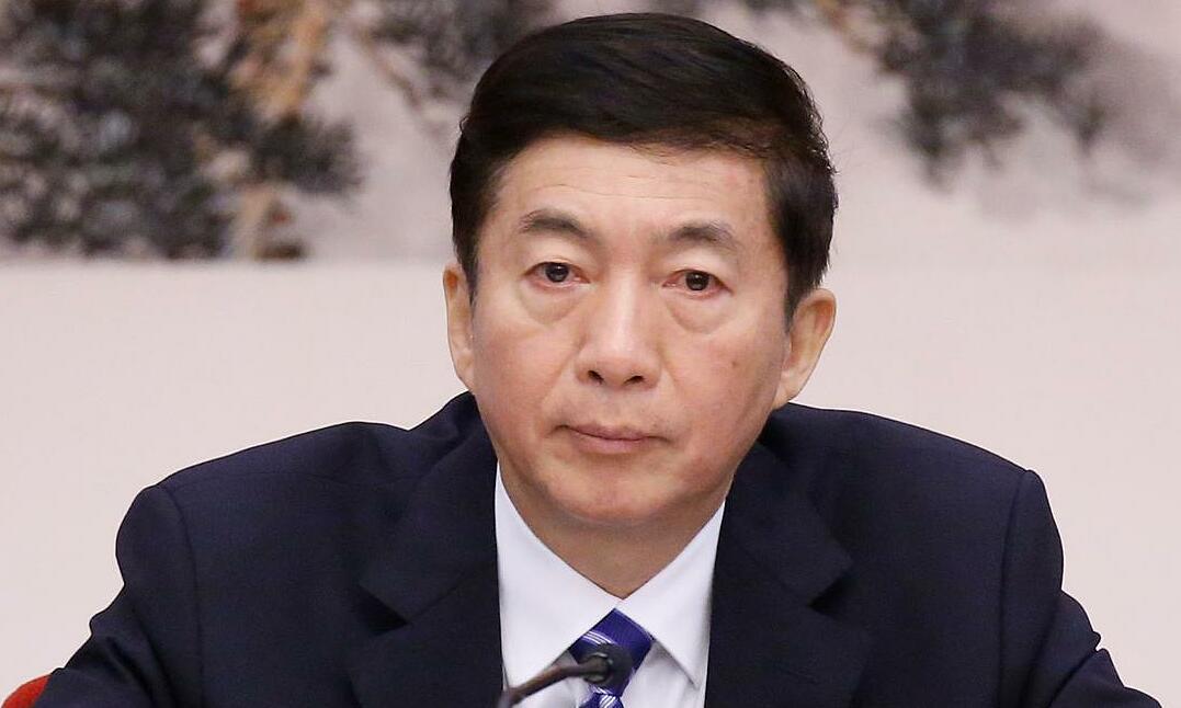 Trưởng Văn phòng Liên lạc Bắc Kinh tại Hong Kong, Lạc Huệ Ninh, tại một sự kiện ở Bắc Kinh, Trung Quốc, tháng 10/2017, khi còn là Bí thư tỉnh ủy Sơn Tây. Ảnh: Reuters.